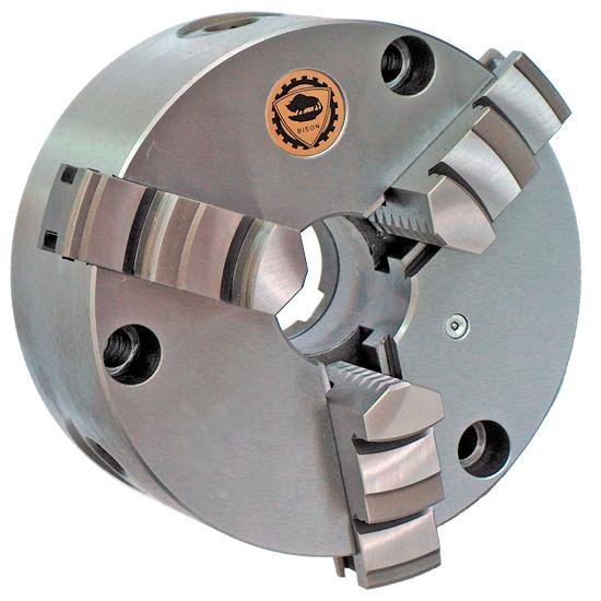 Rotagrip - 080mm Bison 3 Jaw Standard Scroll Chuck