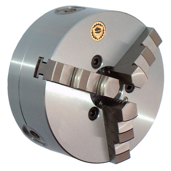 Rotagrip - 250mm D1-6 Bison 3 Jaw Steel Body Chuck