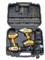 18v Li-ion Cordless Twin Drill & Impact Driver Kit