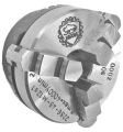 049mm Bison 3 Jaw Lever Scroll Chuck