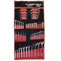 50 Piece Metric  Combination Spanner / Wrench Set