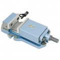 Bison 150mm Precision Machine Vice Plain Base 125mm Opening