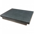 Black Granite Surface Plate 24 x 18 x 4in With Ledges