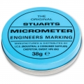 Stuarts Micrometer Engineers Marking Blue 38 gram Tin
