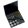 Volkel 18 Piece HSS Tap, Die & Drill Set M3 - M10